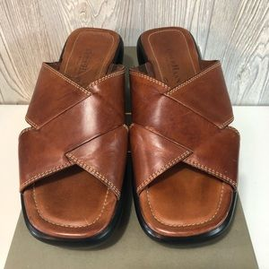 Cole Haan Shira Sandals Scotch Brown Size 7B